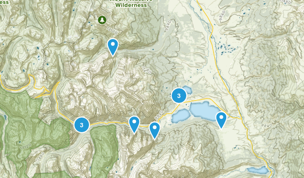 Twin Lakes, Colorado Nature Trips Map
