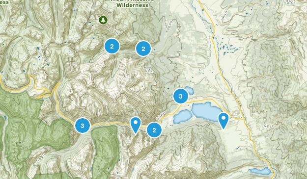 Twin Lakes, Colorado Views Map