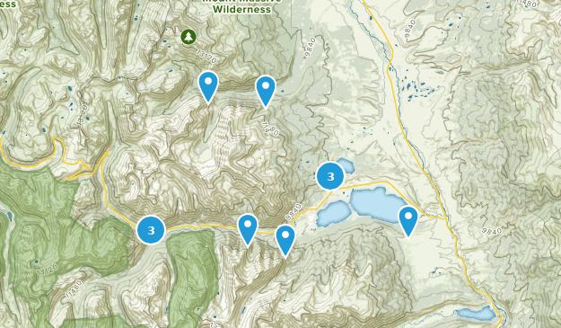 Twin Lakes, Colorado Walking Map