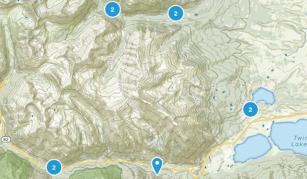 Twin Lakes, Colorado Wildlife Map