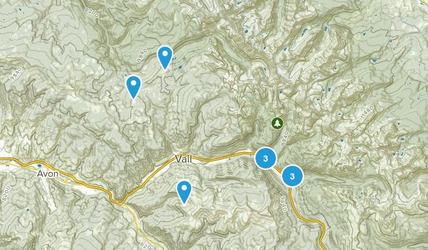 Vail, Colorado Wildlife Map