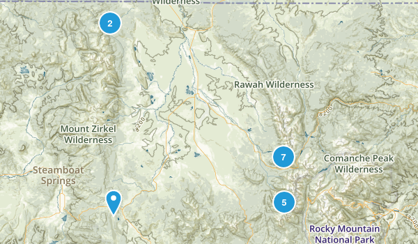 Walden, Colorado Birding Map