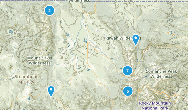 Walden, Colorado Walking Map