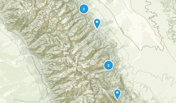 Westcliffe, Colorado Camping Map