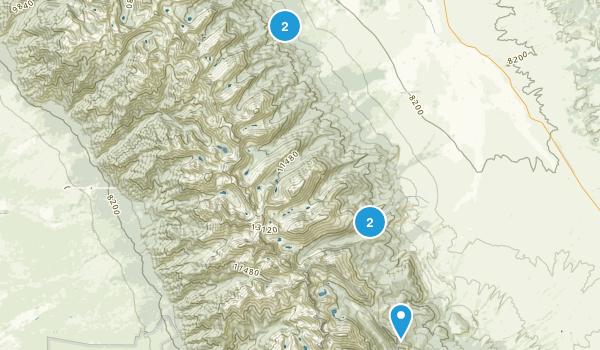Westcliffe, Colorado Trail Running Map