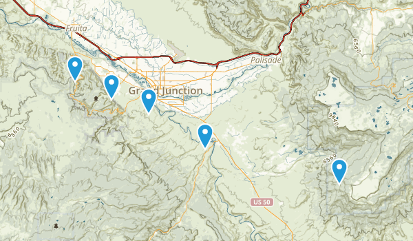 Whitewater, Colorado Birding Map