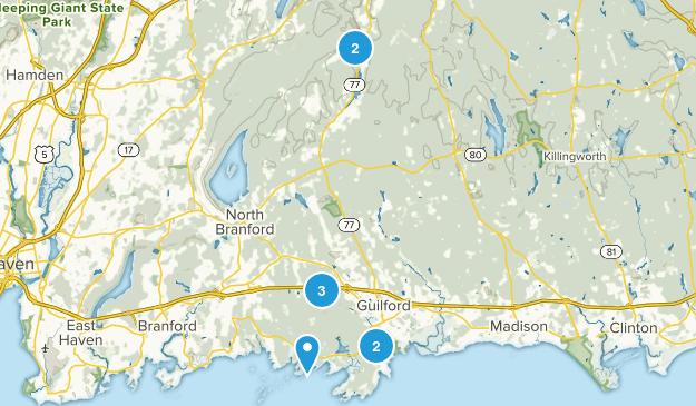 Guilford, Connecticut Birding Map