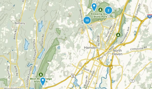 Hamden, Connecticut Kid Friendly Map