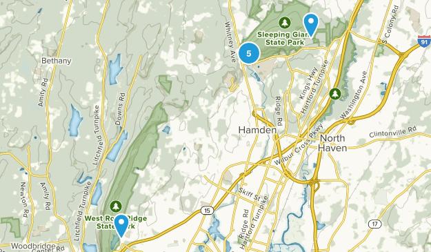 Hamden, Connecticut Wildlife Map
