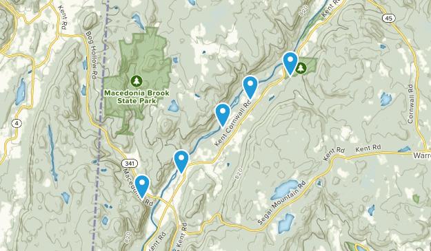 Kent, Connecticut Birding Map