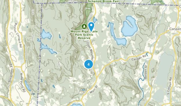 Salisbury, Connecticut Forest Map