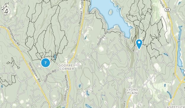 Weston, Connecticut Trail Running Map