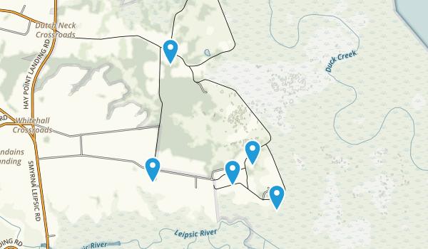Smyrna, Delaware Forest Map
