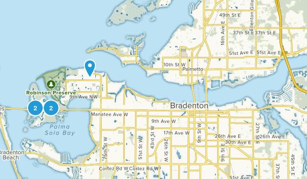 Bradenton, Florida Kid Friendly Map