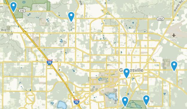 Gainesville, Florida Kid Friendly Map