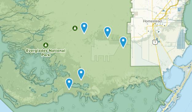 Homestead, Florida Birding Map