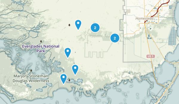 Homestead, Florida Wildlife Map