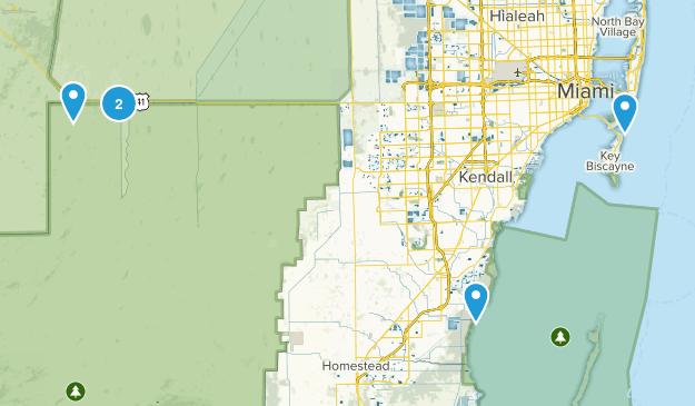 Miami, Florida No Dogs Map