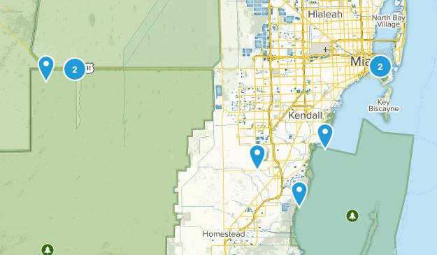 Miami, Florida Views Map
