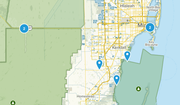 Miami, Florida Walking Map
