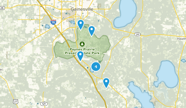 Map Of Trails Near Micanopy Florida Alltrails