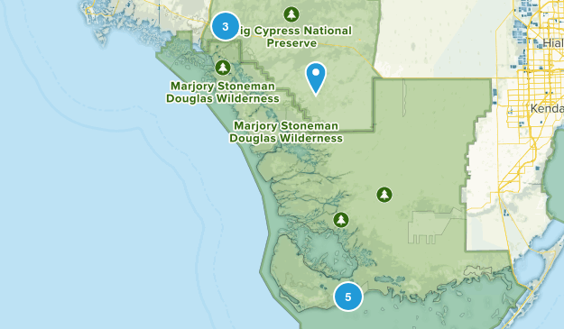 Ochopee, Florida Birding Map