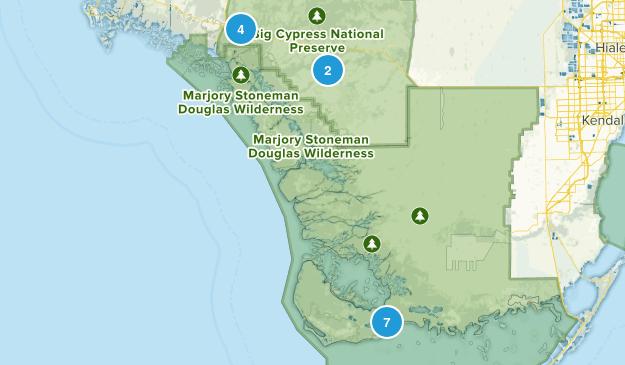 Ochopee, Florida Wildlife Map