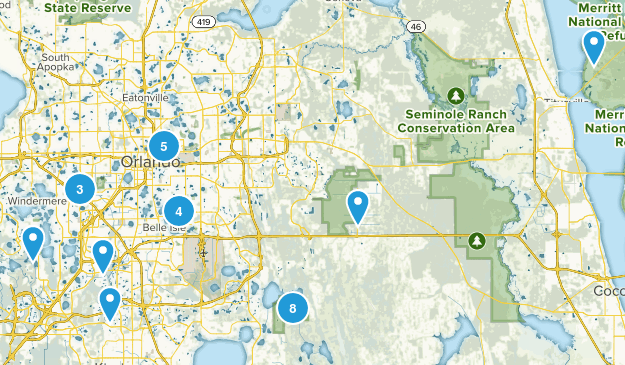 Orlando, Florida Kid Friendly Map