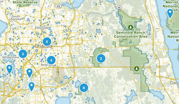 Orlando, Florida Walking Map