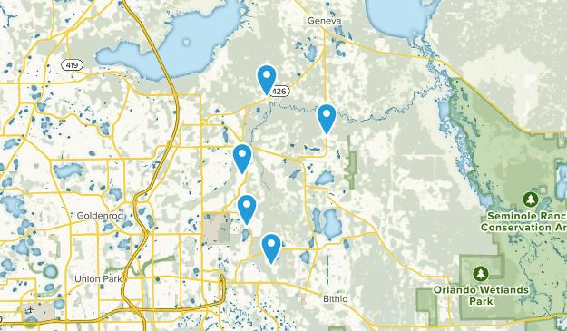 Oviedo, Florida Wildlife Map
