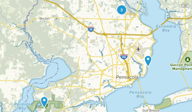 Map Florida Pensacola.Best Wildlife Trails Near Pensacola Florida Alltrails