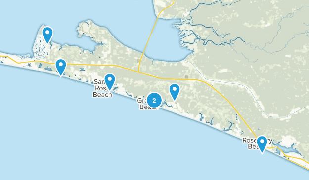 Santa Rosa Beach, Florida Birding Map