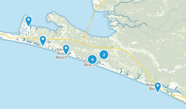 Best Walking Trails Near Santa Rosa Beach Florida Alltrails