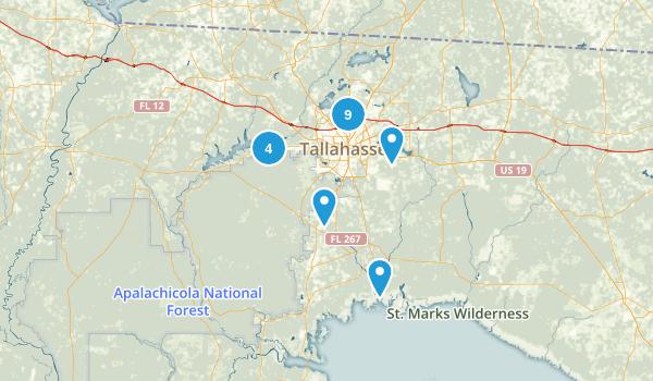 Tallahassee, Florida Birding Map