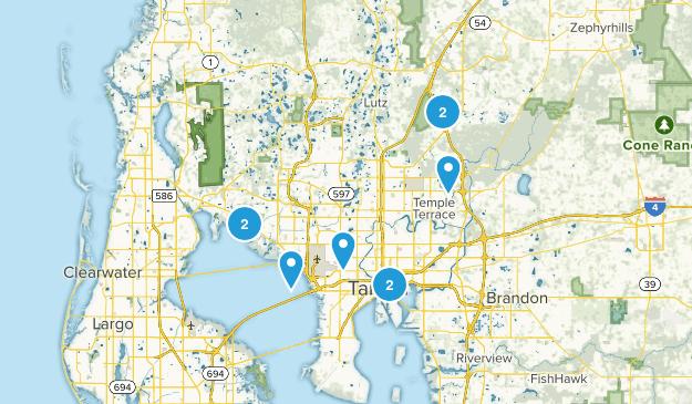 Tampa, Florida Birding Map