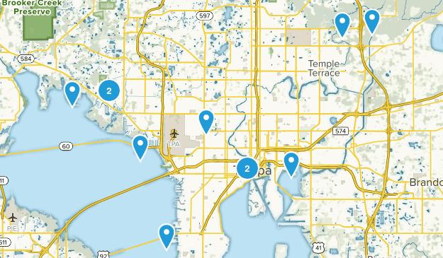 Tampa, Florida Kid Friendly Map