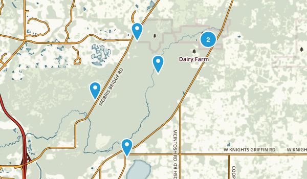 Thonotosassa, Florida Nature Trips Map