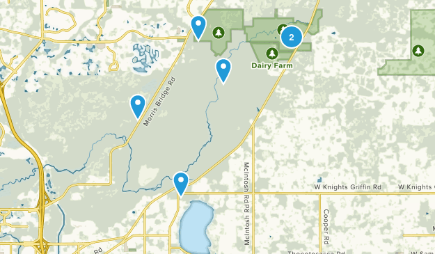 Thonotosassa, Florida Nature Trips Map