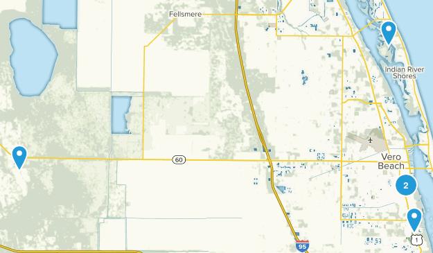 Vero Beach, Florida Birding Map