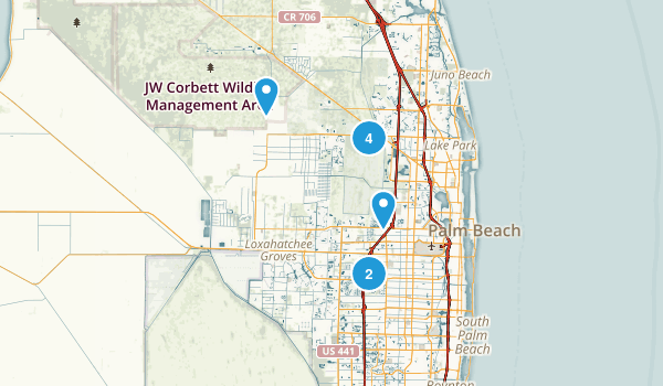 Grassy Waters Nature Preserve West Palm Beach Florida Hog Trail