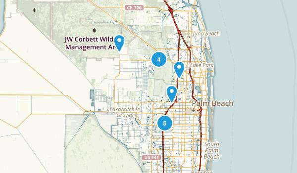 Hiking Trails Near West Palm Beach