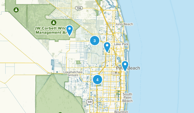 West Palm Beach, Florida Kid Friendly Map
