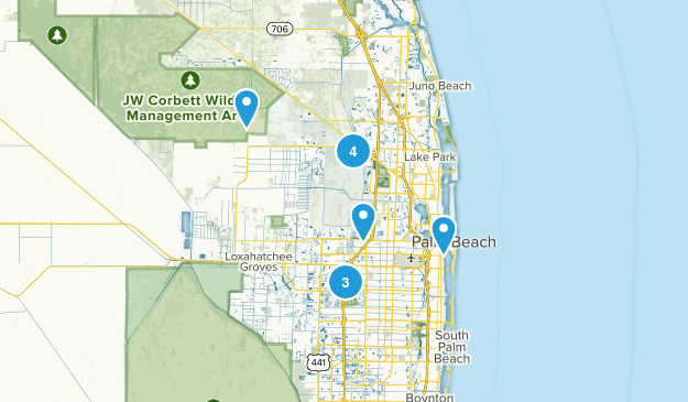 Map Of West Palm Beach Florida.Best Views Trails Near West Palm Beach Florida Alltrails