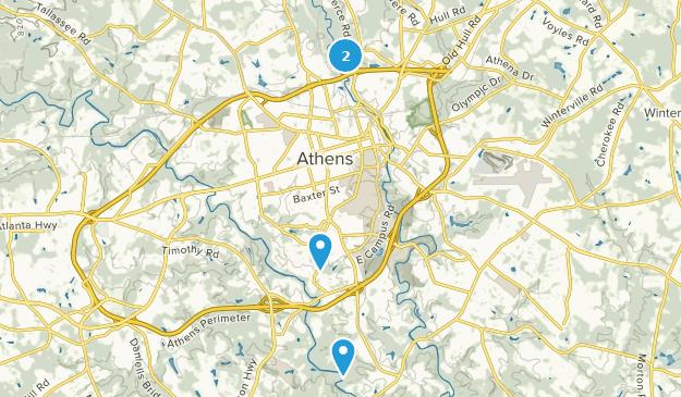 Map Of Georgia Athens.Best Bird Watching Trails Near Athens Georgia Alltrails