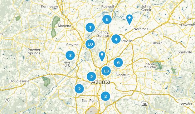 Map Of Georgia For Kids.Best Kid Friendly Trails Near Atlanta Georgia Alltrails