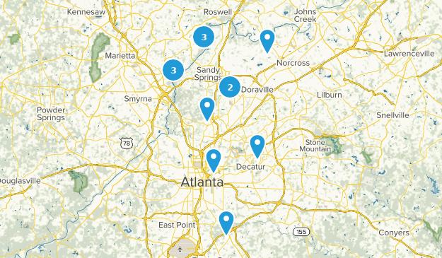 Beste Seewege in der Nähe von Atlanta, Georgia   AllTrails
