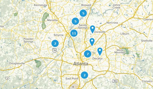 Wege mit der besten Aussicht in der Nähe von Atlanta ...