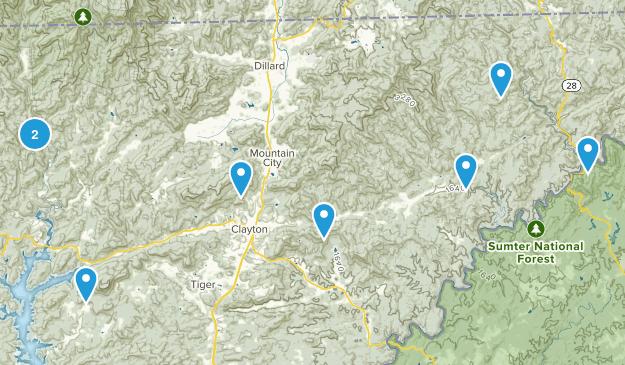 Clayton, Georgia Kid Friendly Map