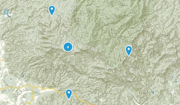 Crandall, Georgia Walking Map