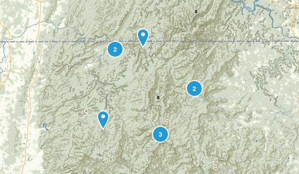 Epworth, Georgia River Map